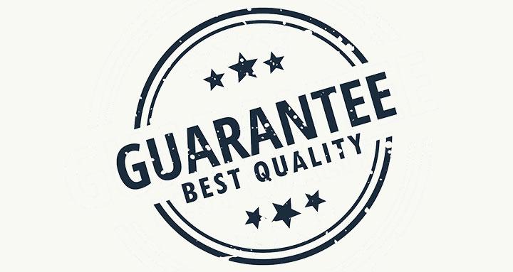Customer Service Guaranteed