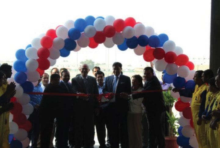 Leminar Industries inaugurates FFC - UK fire rated duct production line in Doha