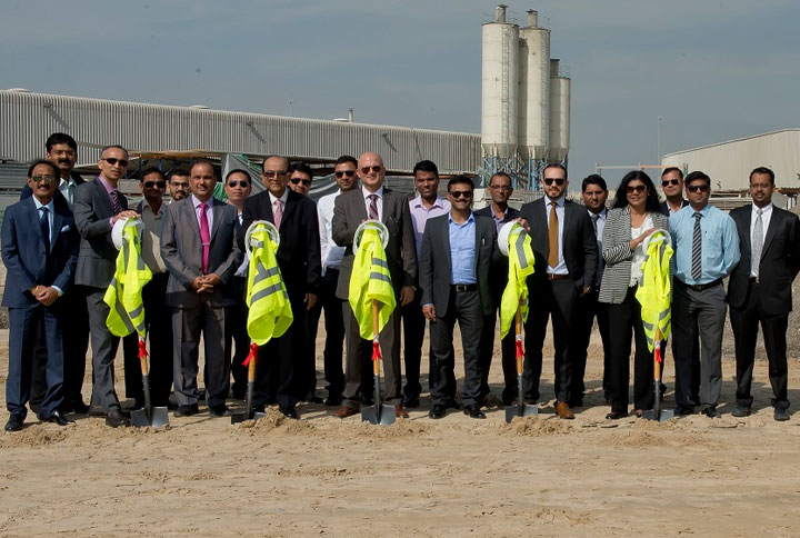 Construction underway on Clima Uno's new factory in Dubai Investment Park